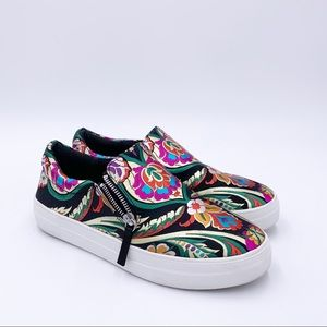 "Steve Madden ""Geary"" Platform Sneakers Size 9"